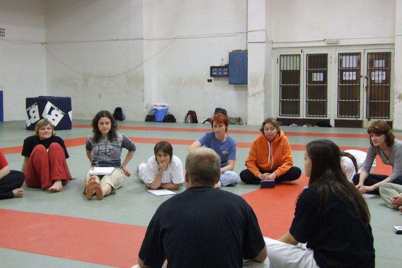 Ženská sebeobrana 2007