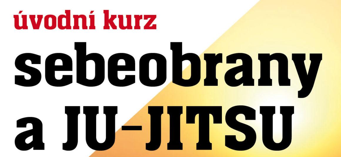 Nový kurz JU-JITSU od 1. října 2019!