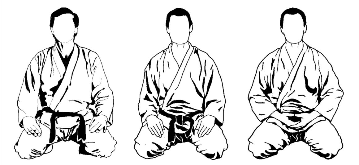 Dojo etiketa – část 1. Začátek a konec cvičení